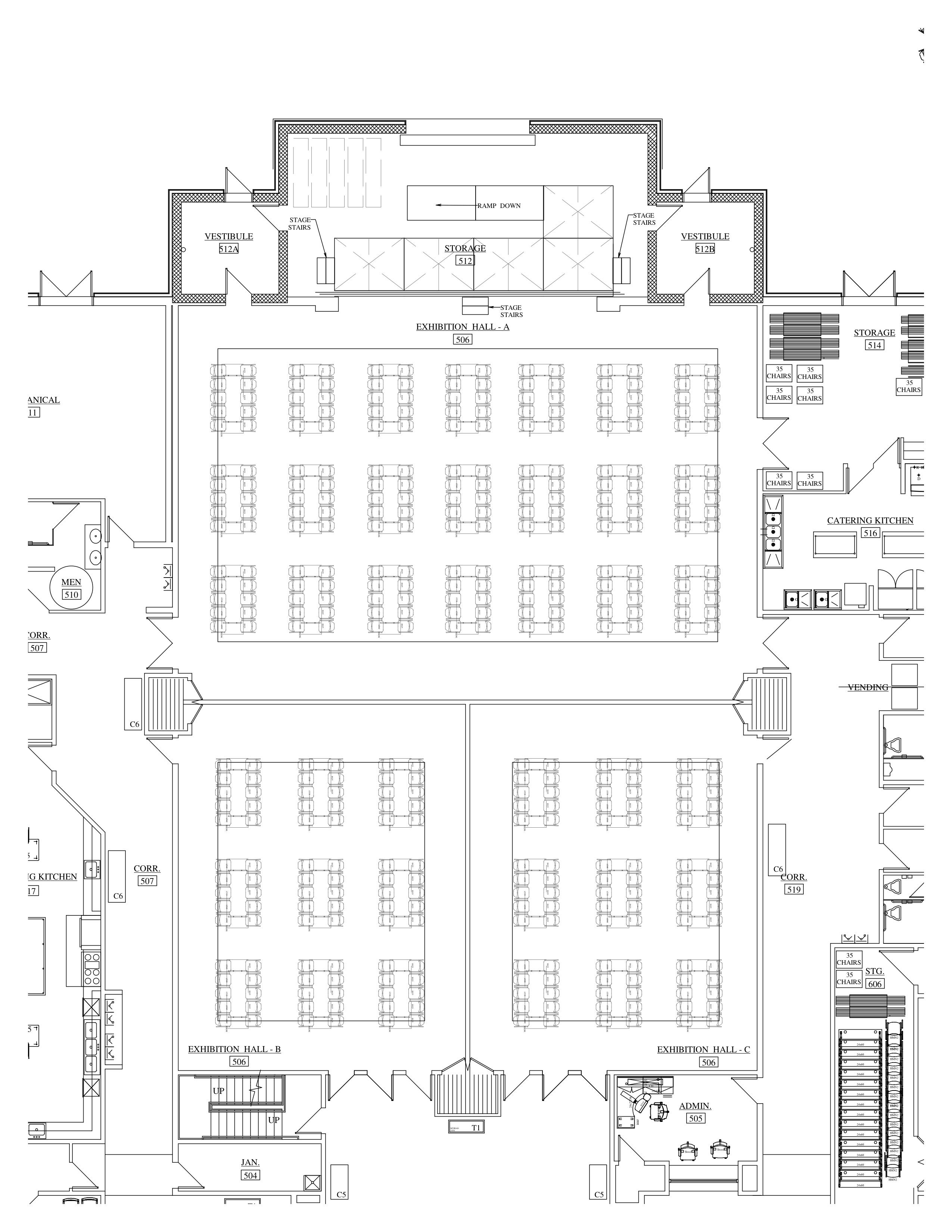 Conference, 30 x 96 tables